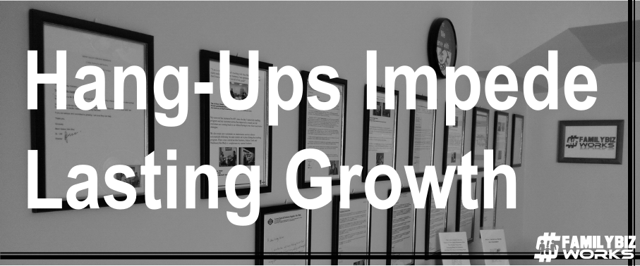 Hang-ups Impede Lasting Growth